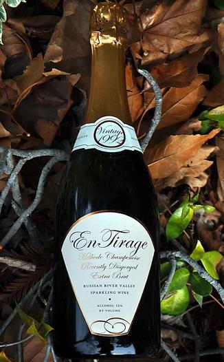 En Tirage 1992 Methode Champenoise Extra Brut 750ml Wine Bottle