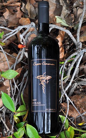 Super Sonoman 2009 Sonoma County Syrah 750ml Wine Bottle