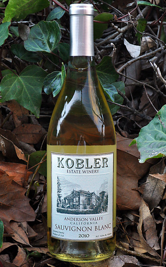 Kobler Winery 2010 Anderson Valley Sauvignon Blanc 750ml Wine Bottle