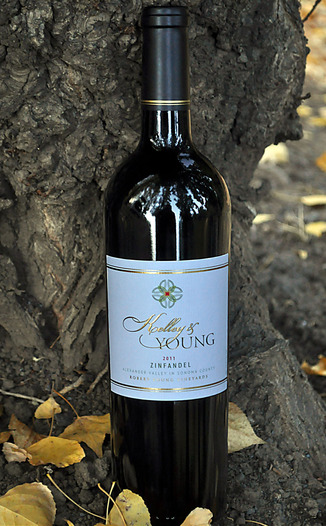 Kelley & Young Wines 2011 Alexander Valley Zinfandel 750ml Wine Bottle