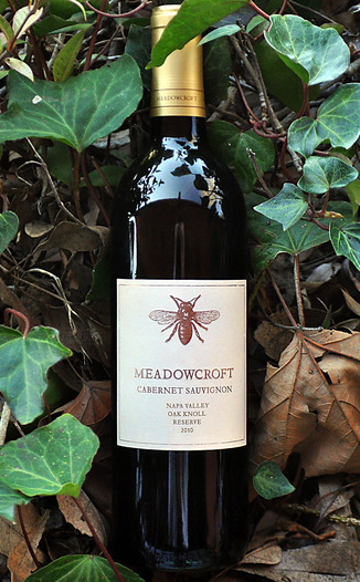 Meadowcroft Wines 2010 Napa Valley Oak Knoll Reserve Cabernet Sauvignon 750ml Wine Bottle