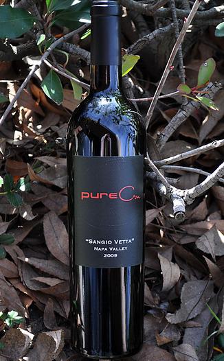 pureCru Wines 2009 Napa Valley Sangio Vetta Sangiovese 750ml Wine Bottle