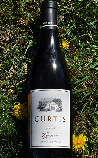 Curtis Winery 2012 Santa Ynez Valley Estate Viognier 750ml Wine Bottle