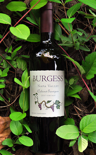 Burgess Cellars 2010 Napa Valley Cabernet Sauvignon 750ml Wine Bottle