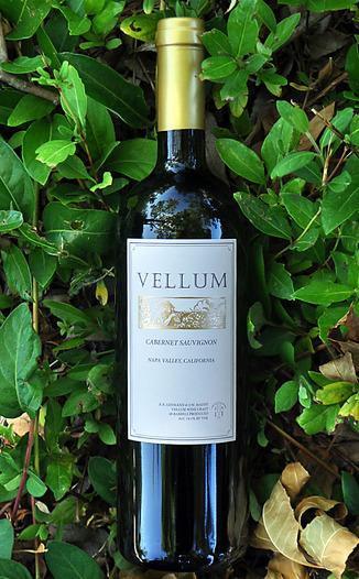 Vellum Wine Craft 2011 Napa Valley Cabernet Sauvignon 750ml Wine Bottle