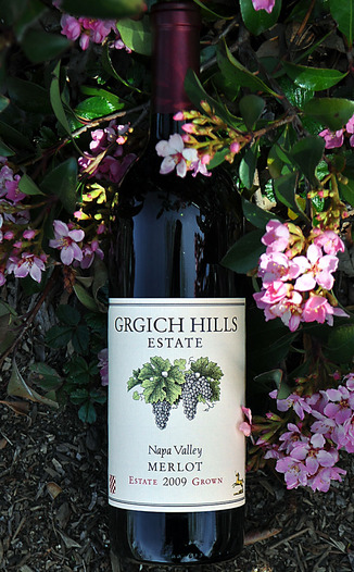Grgich Hills Estate 2009 Napa Valley Merlot 750ml Wine Bottle
