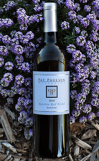 Pat Paulsen Vineyards 2010 North Coast Reserve Red Blend 750ml Wine Bottle