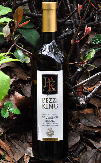 Pezzi King Vineyards 2012 Dry Creek Valley Estate Sauvignon Blanc 750ml Wine Bottle