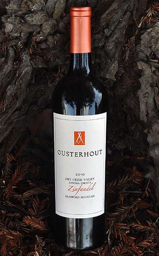 Ousterhout Wines 2010 Dry Creek Valley Zinfandel 750ml Wine Bottle