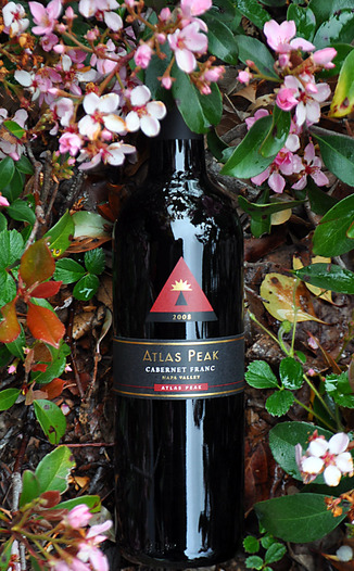 Atlas Peak Wines 2008 Atlas Peak Cabernet Franc 750ml Wine Bottle