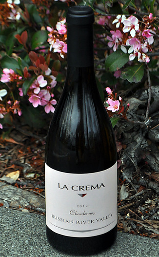 La Crema Winery 2012 Appellation Series Russian River Valley Chardonnay 750ml Wine Bottle
