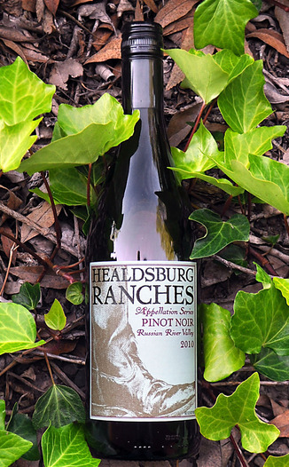 Healdsburg Ranches 2010 Russian River Valley Appellation Series Pinot Noir 750ml Wine Bottle