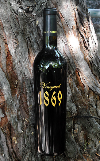 Scott Harvey Wines 2011 Vineyard 1869 Old Vine Zinfandel 750ml Wine Bottle