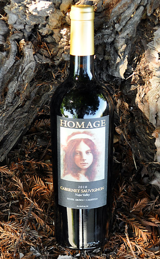 Homage Vineyard 2010 Napa Valley Cabernet Sauvignon 750ml Wine Bottle