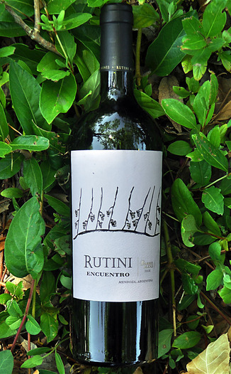 Rutini Wines 2008 Barrel Blend Red Wine 750ml Wine Bottle