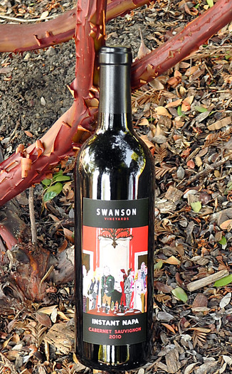 Swanson Vineyards 2010 Instant Napa Cabernet Sauvignon 750ml Wine Bottle