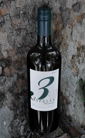 Spelletich Cellars 2011 3 Spells Chardonnay 750ml Wine Bottle