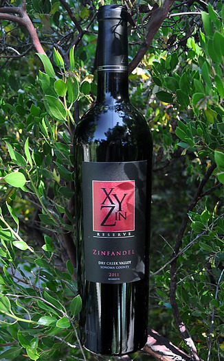 XYZin Wines 2011 Reserve Dry Creek Valley Zinfandel 750ml Wine Bottle