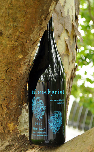 Thumbprint Cellars 2012 Winemaker's Reserve Pinot Noir 750ml Wine Bottle