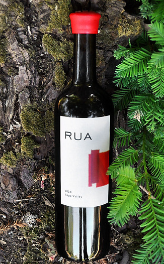 Rua Wines 2010 Napa Valley Red Wine 750ml Wine Bottle