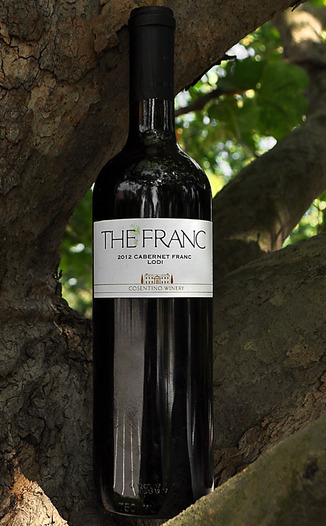 Cosentino Winery 2012 The Franc 750ml Wine Bottle