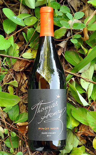 Thomas Henry 2013 Napa Valley Pinot Noir 750ml Wine Bottle