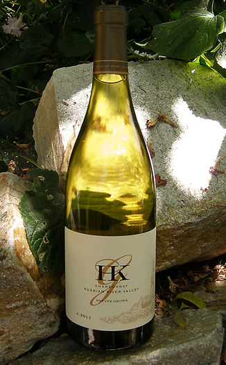 HKG Wines 2011 Russian River Valley Chardonnay 750ml Wine Bottle