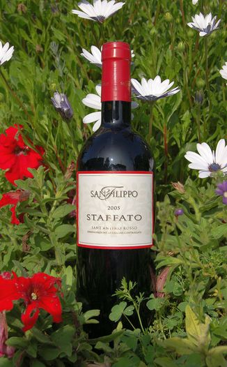 Az. Agr. San Filippo 2005 Staffato Sant Antimo Rosso DOC 750ml Wine Bottle