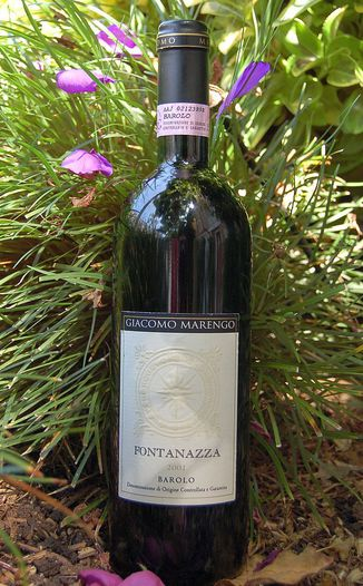 Fattoria Giacomo Marengo 2001 Fontanazza Barolo 750ml Wine Bottle