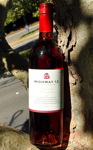 Highway 12 Winery 2012 Special Release Sonoma Rosé 750ml Wine Bottle