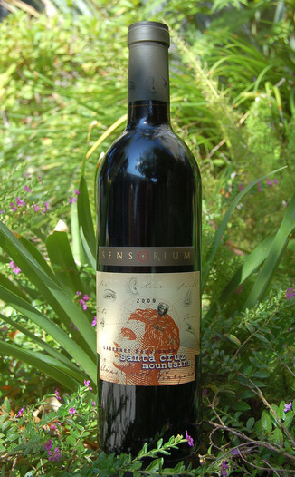 Sensorium Wines 2009 Santa Cruz Mountains Cabernet Sauvignon 750ml Wine Bottle