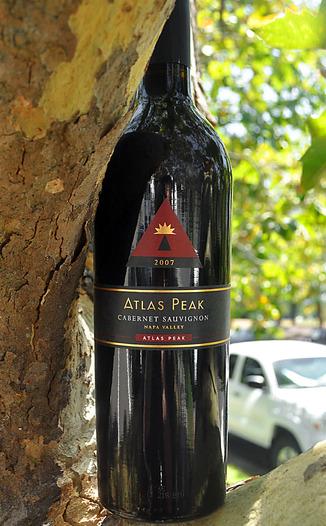 Atlas Peak Wines 2007 Atlas Peak Cabernet Sauvignon 750ml Wine Bottle