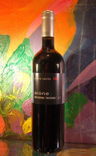 Podere Casina 2004 Aione - Maremma Toscana - Super Tuscan 750ml Wine Bottle