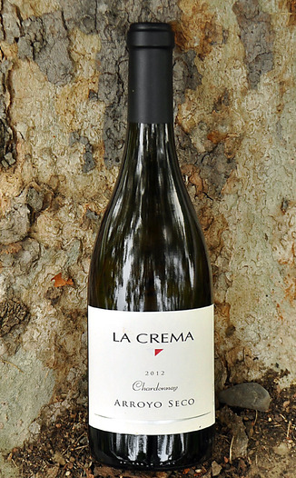 La Crema Winery 2012 Arroyo Seco Chardonnay 750ml Wine Bottle
