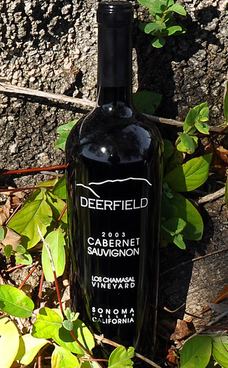 Deerfield Ranch 2003 Sonoma Valley Cabernet Sauvignon 750ml Wine Bottle
