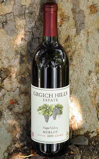 Grgich Hills Estate 2009 Napa Valley Merlot 750ml Wine Bottle