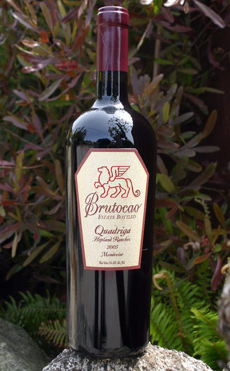 Brutocao Cellars 2005 Quadriga 750ml Wine Bottle