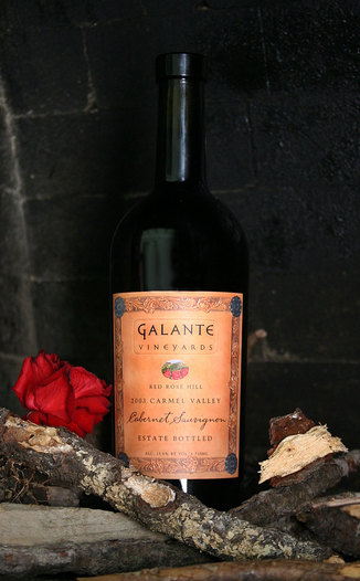 Galante Vineyards 2003 Red Rose Hill  750ml Wine Bottle