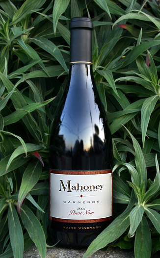 Mahoney Vineyards 2004 Carneros Pinot Noir 750ml Wine Bottle