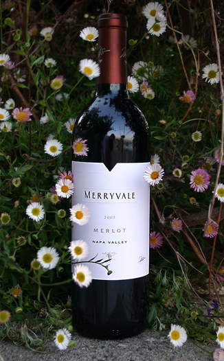 Merryvale Vineyards 2005 Merlot, Napa Valley 750ml Wine Bottle