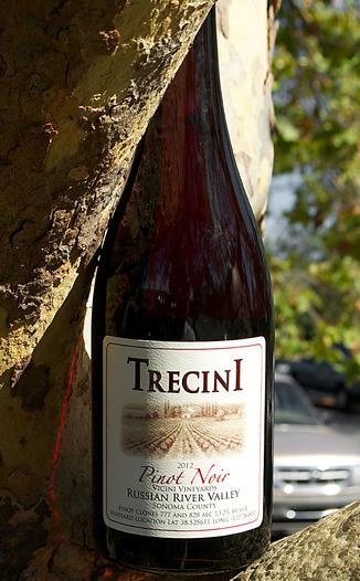 Trecini Cellars 2012 Russian River Valley Pinot Noir 750ml Wine Bottle