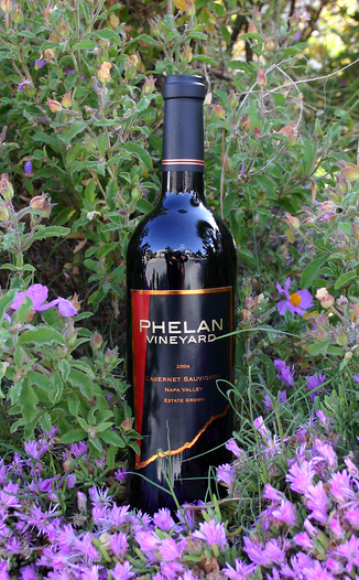 Phelan Vineyard 2004 Cabernet Sauvignon 750ml Wine Bottle