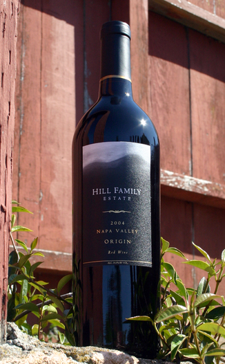 "Hill Family Estate 2004 ""Origin"" Red Wine 750ml Wine Bottle"