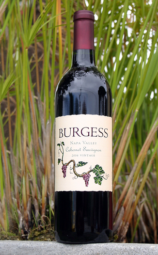 Burgess Cellars 2004 Napa Valley Cabernet Sauvignon 750ml Wine Bottle
