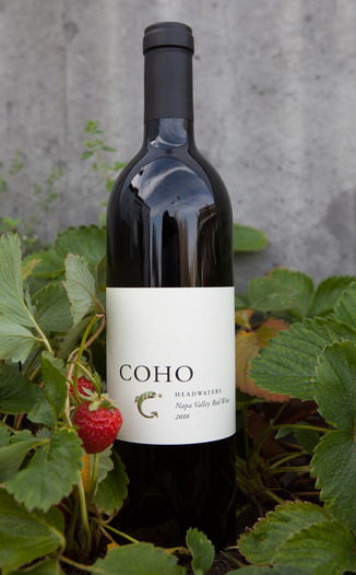 Coho Wines 2010 Headwaters Napa Valley Red Wine 750ml Wine Bottle