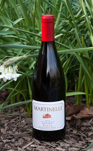 Martinelli Winery 2009 Zio Tony Ranch Syrah 750ml Wine Bottle