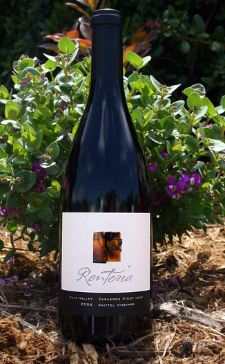 Renteria 2005 Pinot Noir 750ml Wine Bottle