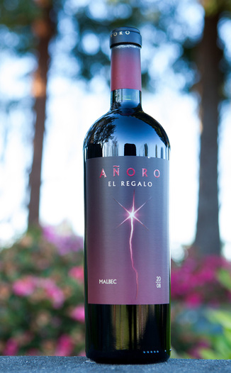 Anoro El Regalo 2008 Malbec 750ml Wine Bottle