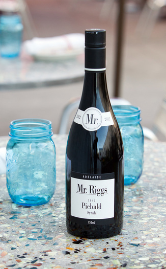 Mr. Riggs 2012 Mr. Riggs Syrah Piebald 750ml Wine Bottle