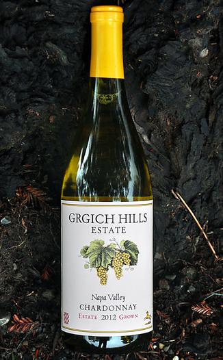 Grgich Hills Estate 2012 Estate Grown Napa Valley Chardonnay 750ml Wine Bottle